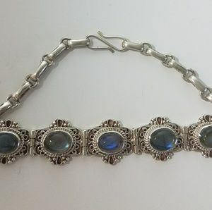 Jewelry - NWOT 925 Sterling Silver handmade bracelet